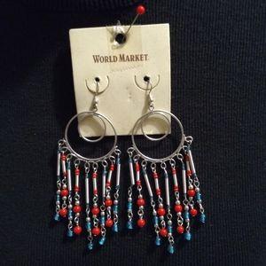 World Market Hoop Earrings